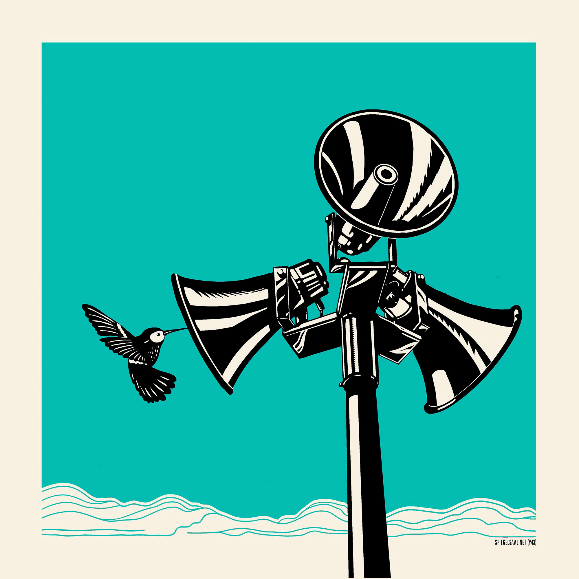 Kolibri-blau