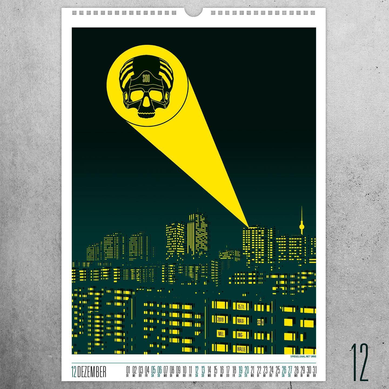 Velomax Gig Poster Calendar 2020